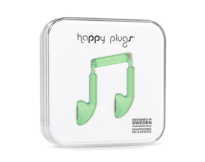 Happy Plugs Slušalice Green
