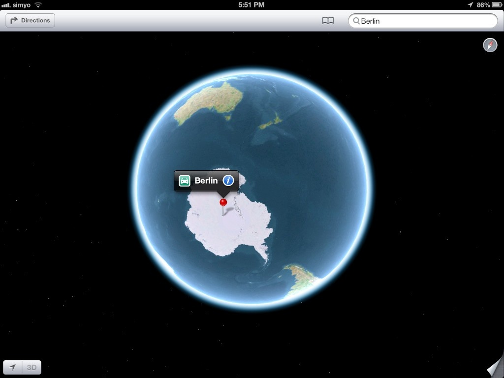 Apple Maps fail