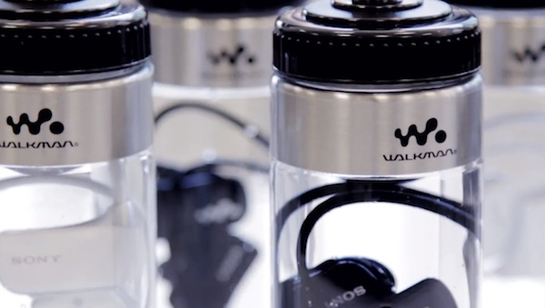 Walkman u boci