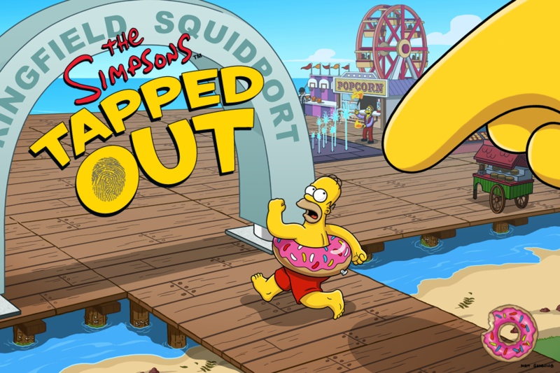 App tjedna: The Simpsons Tapped Out