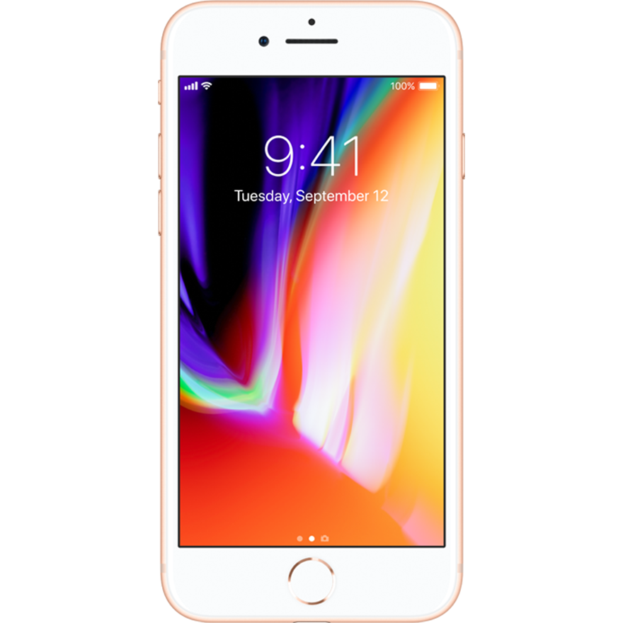 Apple: iPhone 8 Gold 64 GB