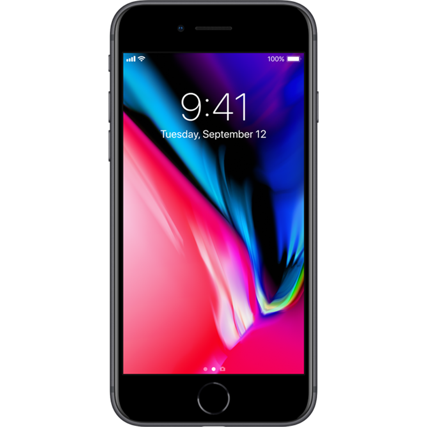 Apple: iPhone 8 Space Grey 64 GB