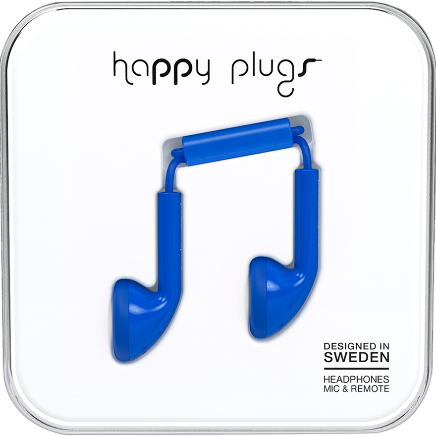 Happy Plugs: Slušalice Blue