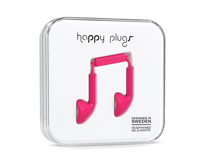 Happy Plugs Slušalice Red