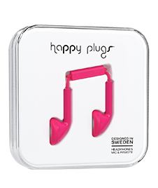 Happy Plugs: Slušalice Red