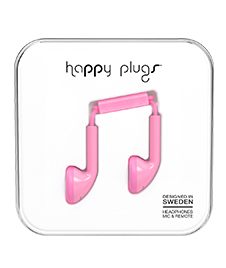 Happy Plugs: Slušalice Pink