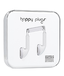 Happy Plugs: Slušalice White